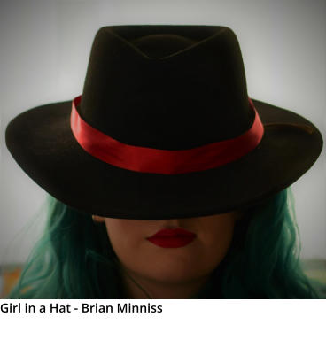 Girl in a Hat - Brian Minniss