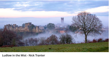 Ludlow in the Mist - Nick Tranter